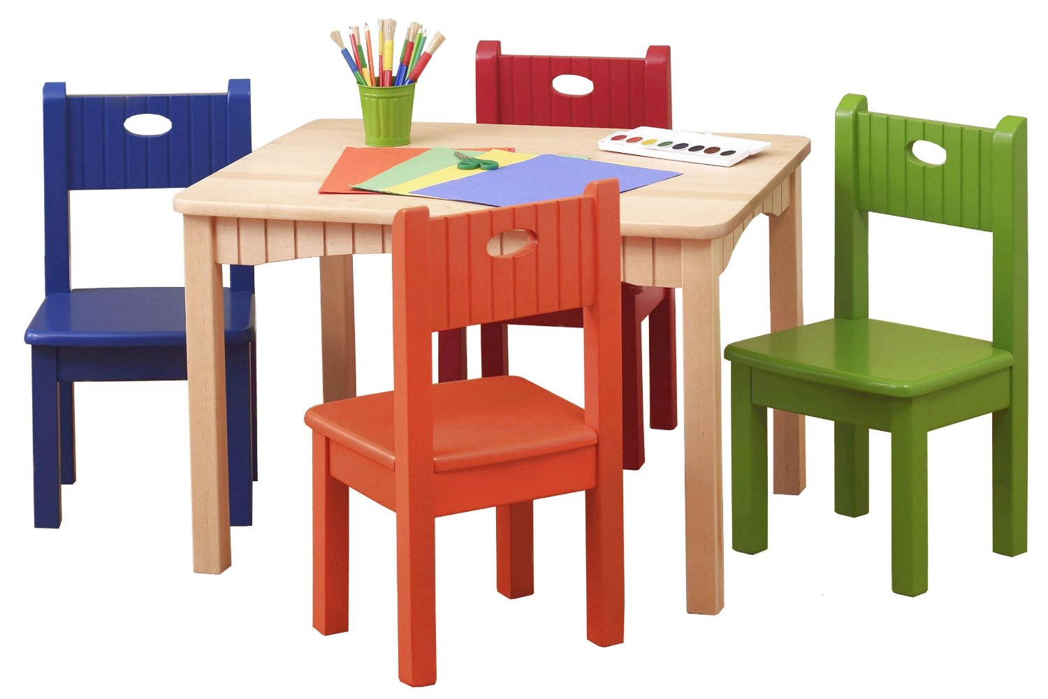 Infant Table And Chairs Wooden Table And Chairs For Kids Homesfeed