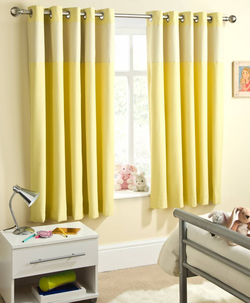 Yellow Curtains Nursery Curtain Menzilperde Net