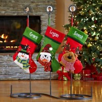 Charming Christmas Stocking Holder Stands | HomesFeed