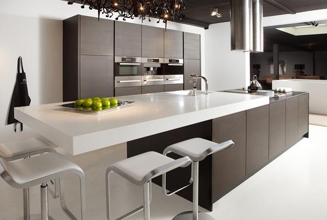 Wenge Kitchen for Aristrocratic Fashion Trend  New Idea