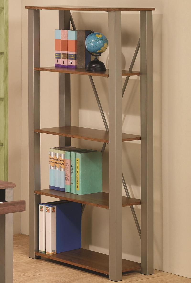 how to decorate your kitchen redo free standing bookshelves keeping book collections in ...