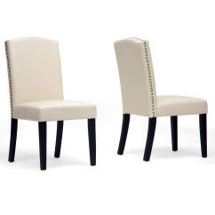 White Upholstered Chairs Ikea Tub Chair Covers Ebay Dining Displaying Infinite