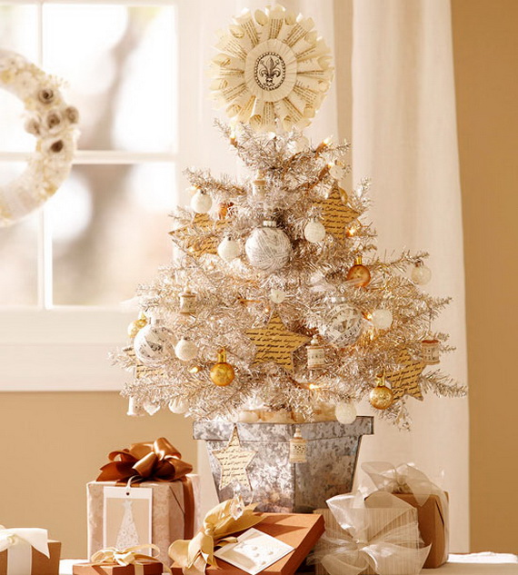 space saving kitchen table cooking in the games elegant white top christmas tree | homesfeed