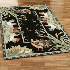 Chicken Kitchen Rugs Renovation Pictures Rooster Creating A Country Nuance