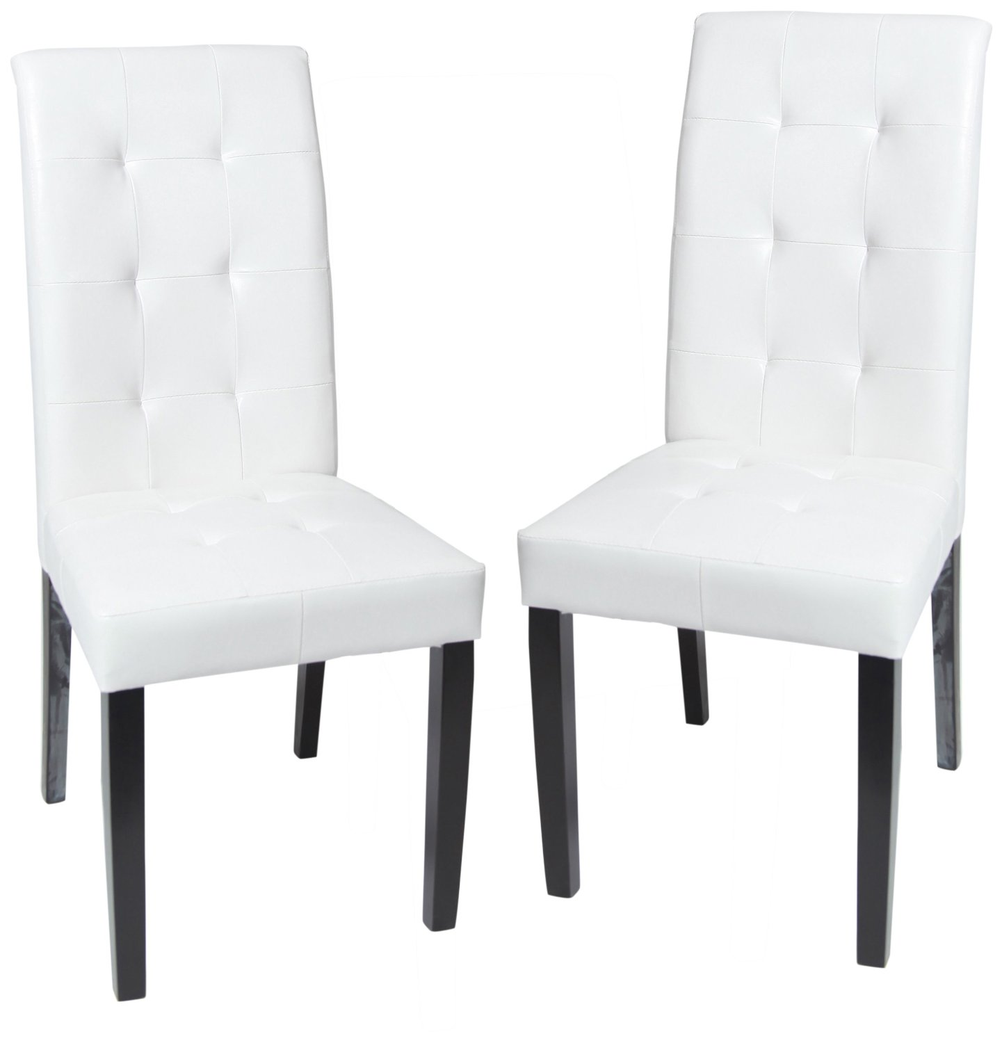 White Upholstered Chair White Upholstered Dining Chair Displaying Infinite
