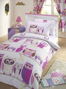 Enjoy Precious Time With Sketchy Owl Bedding