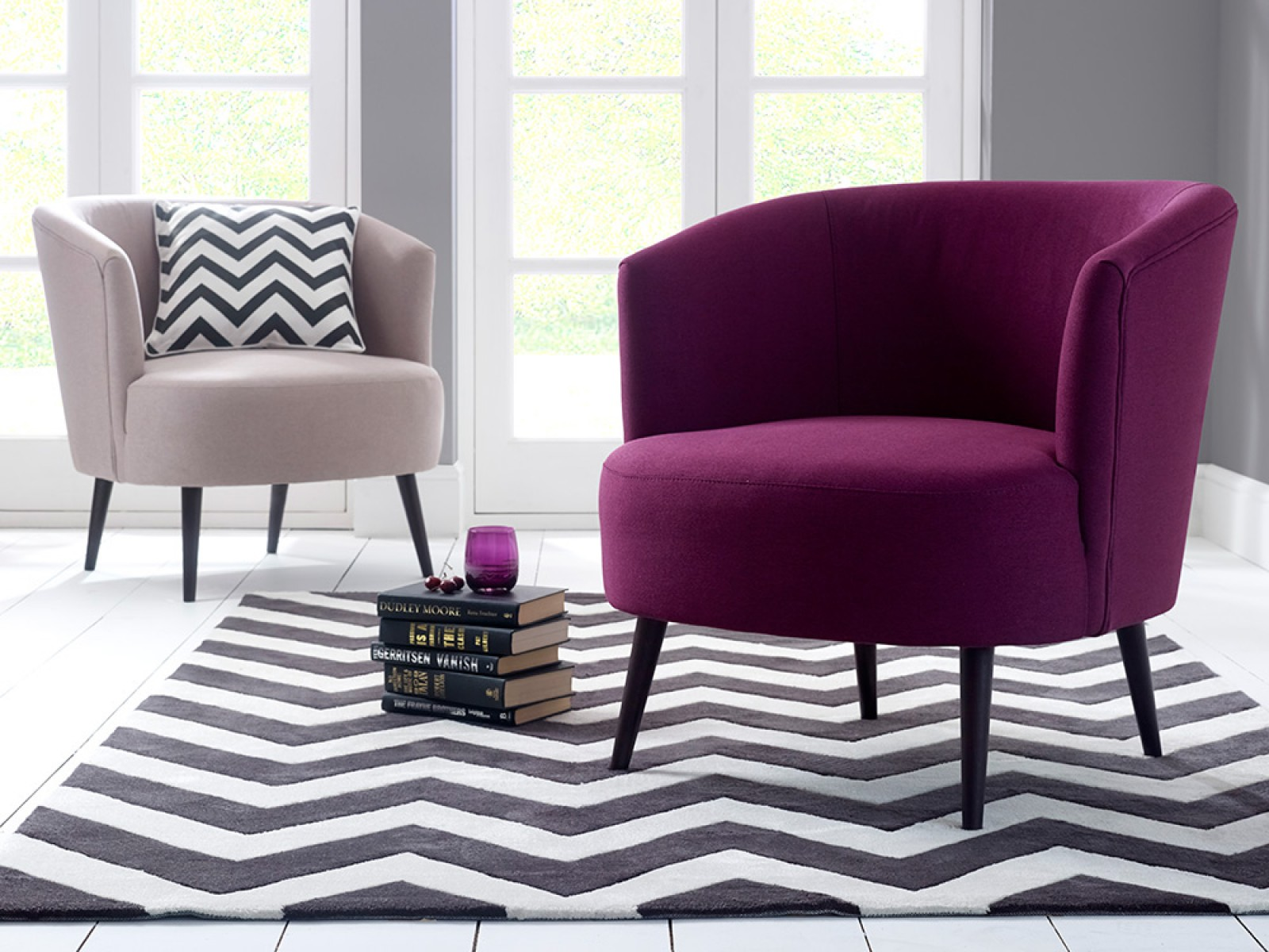 pink accent chair wicker seat pad how to cheer the interior with homesfeed