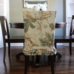Chair Back Covers For Dining Room Chairs Industrial Stool Slipcovers That Embellish Your