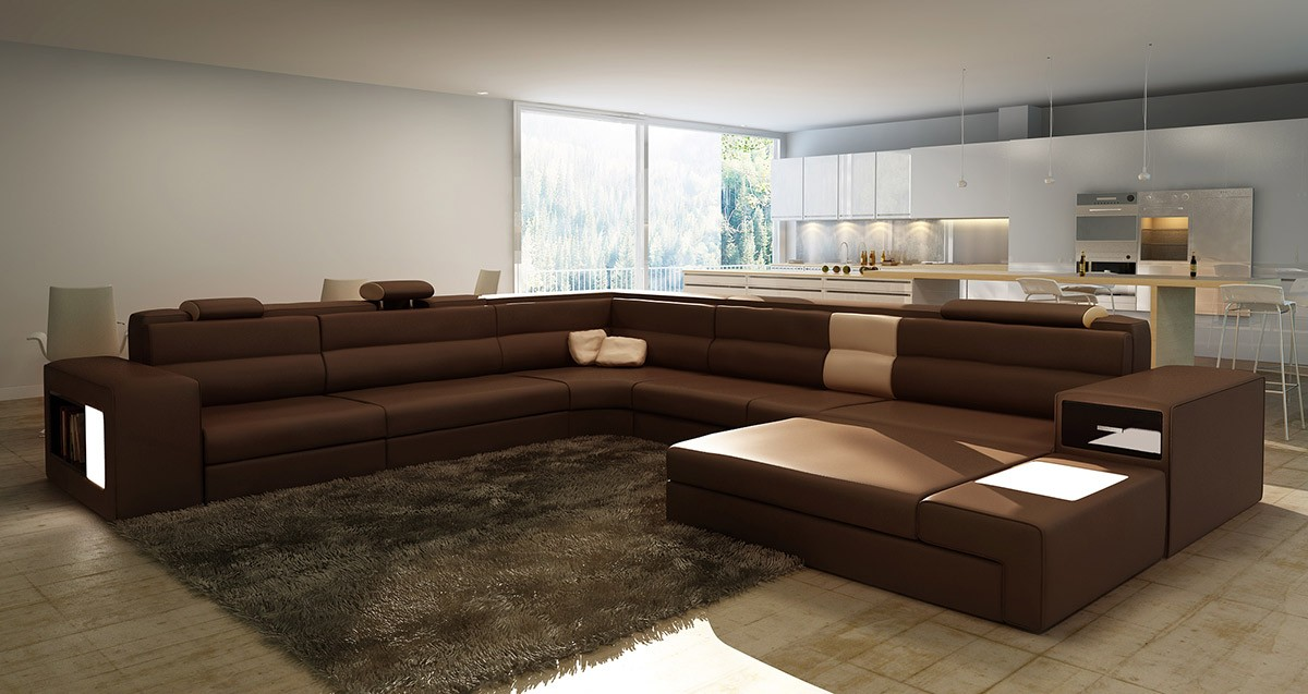 living room decorating ideas leather couches organizer long sectional sofas which designs are insanely gorgeous ...