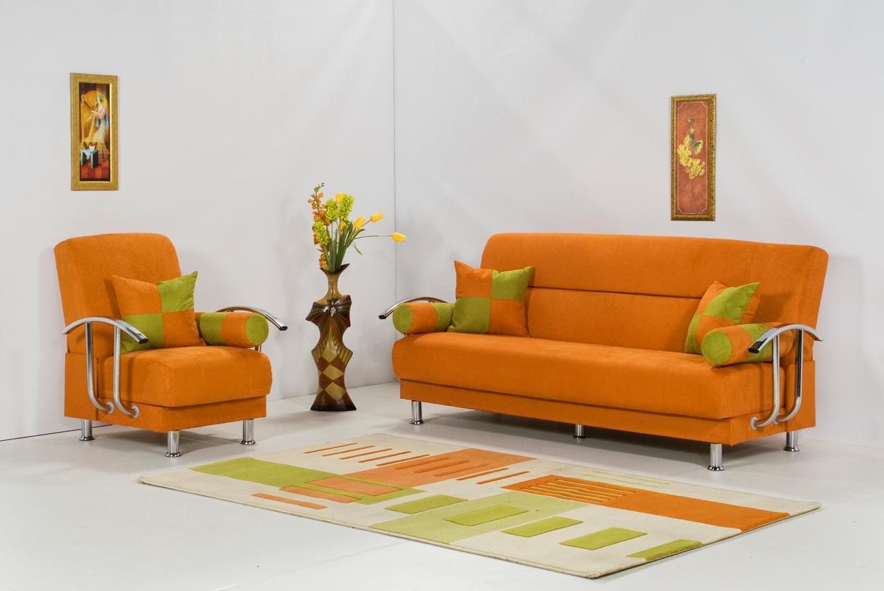 How to Adorn Your Interior with Orange Sofa  HomesFeed