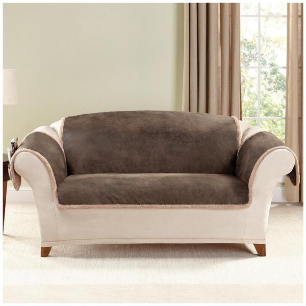 Sure Fit Leather Sofa Cover