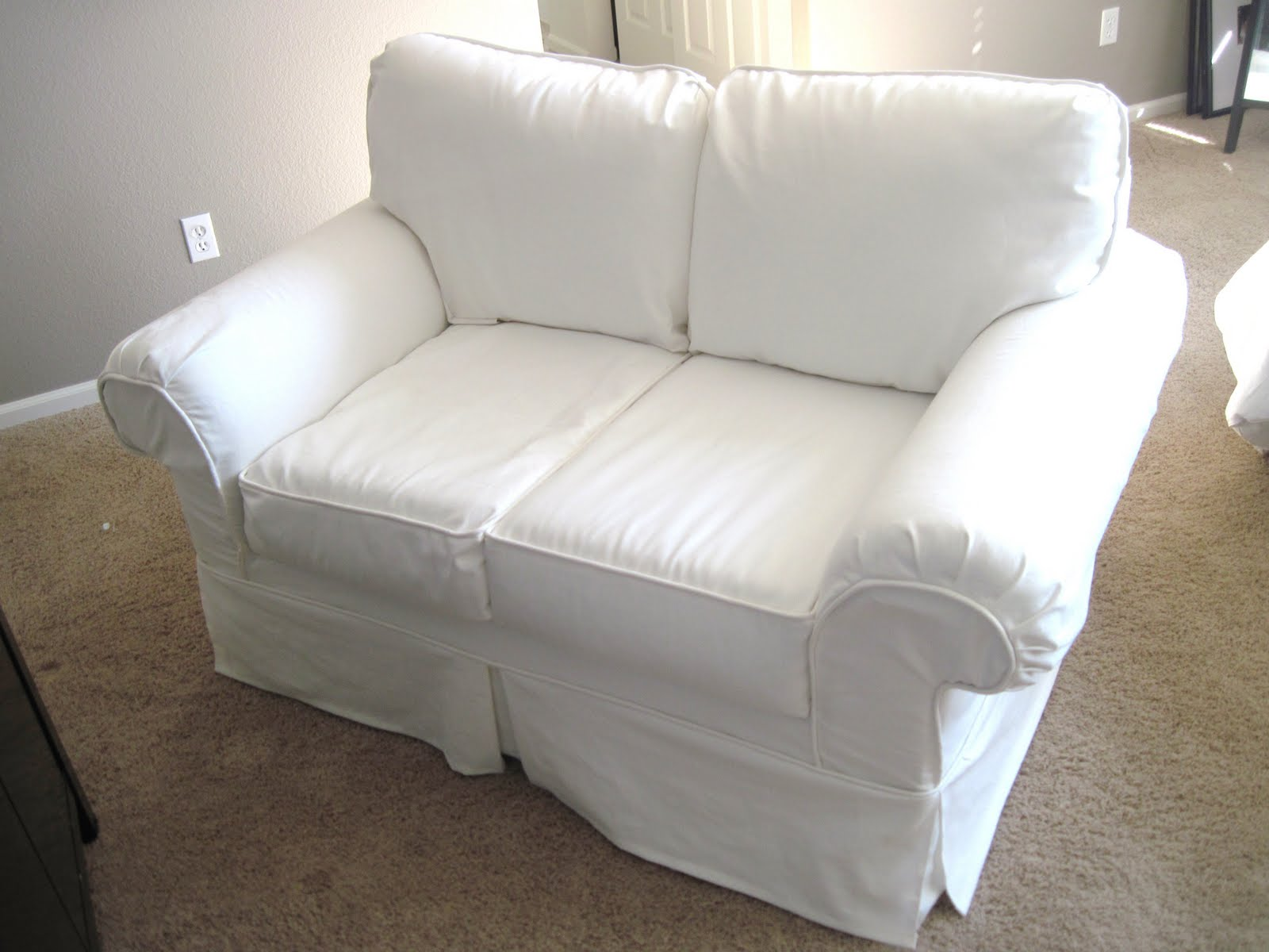 Couch And Chair Covers Love Seat Slip Covers For Stunning Outlook In The Living
