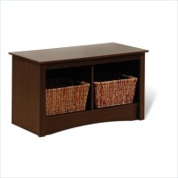 Small Bench with Storage for Entryway: Storage and Stylish ...