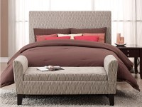 Adorning Bedroom with Bed Ottoman Bench