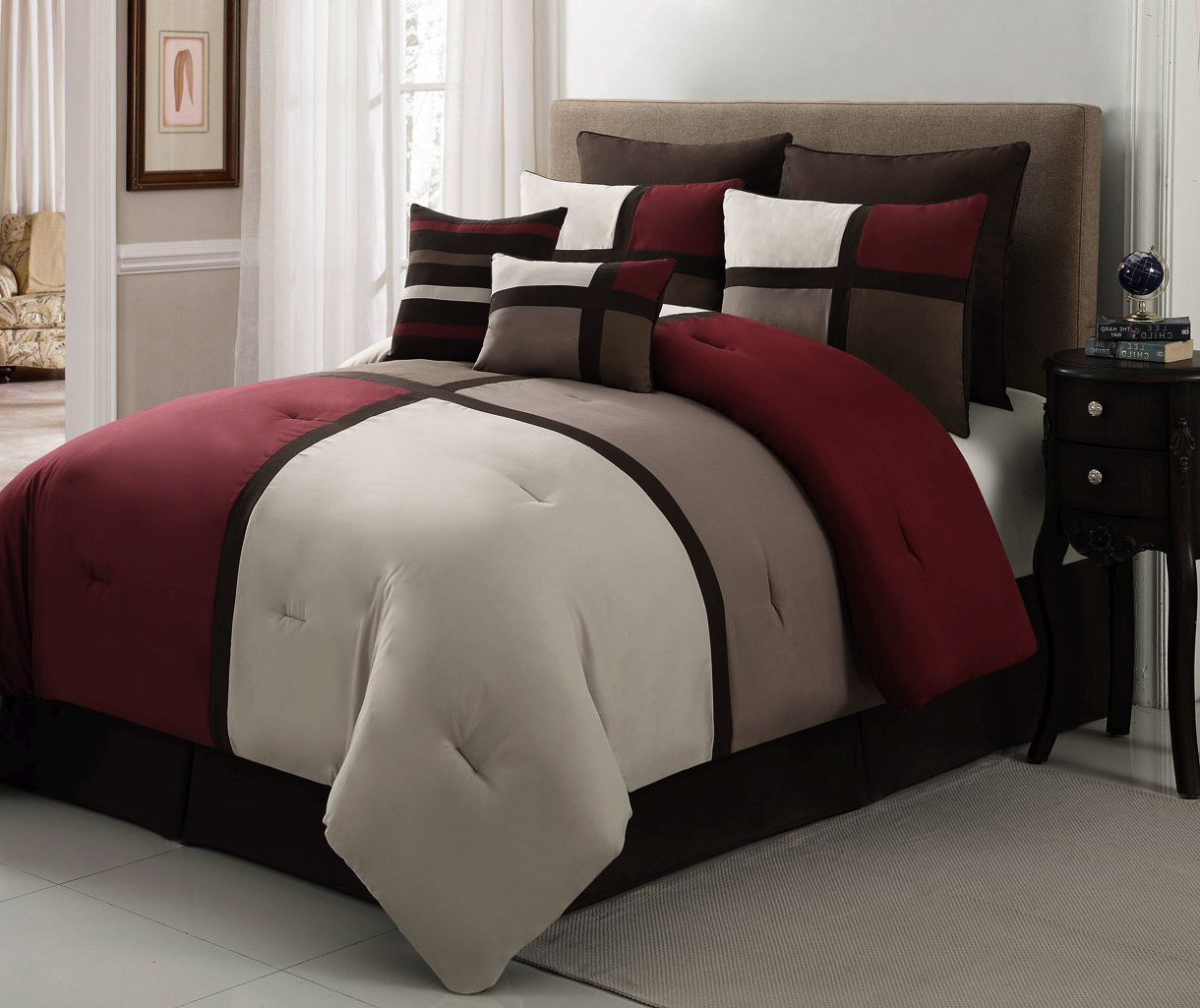 Black And White California King Bedding