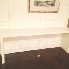 Long White Sofa Table Recovering A The Console Tables Ikea For Stylish And Functional Storage