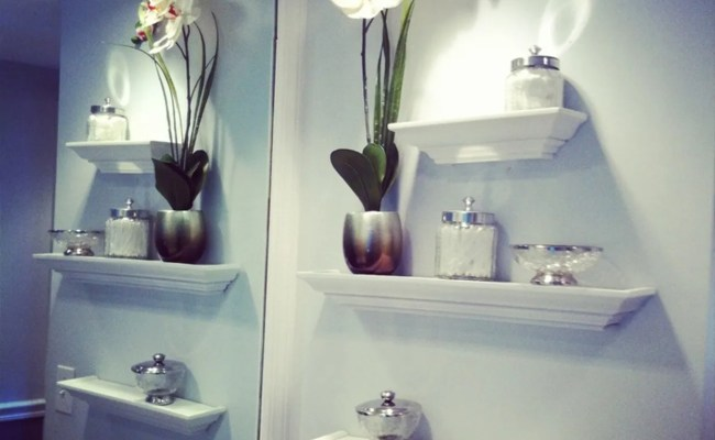 Best Bathroom Wall Shelving Idea To Adorn Your Room