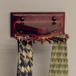 Wall Mounted Chair Rack Linen Dining Covers Australia Various Tie Racks Homesfeed