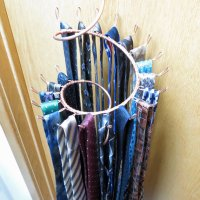 Various Wall Mounted Tie Racks