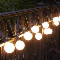 Vintage Outdoor String Lights Ideas   HomesFeed