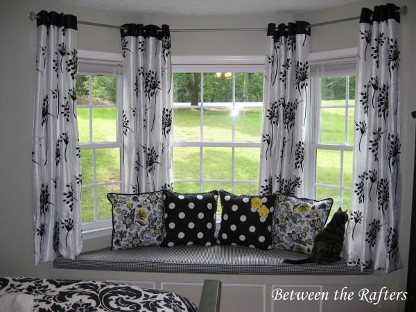 Bay Window Curtain Ideas