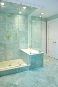 Beautiful Ming Green Marble Tile | HomesFeed