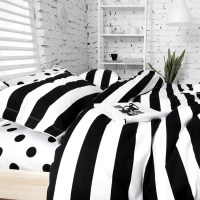 Unique Black And White Polka Dot Sheets | HomesFeed