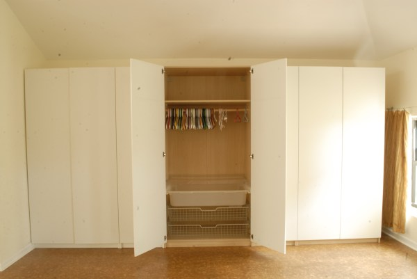Bedroom Wall Closet Storage Cabinet