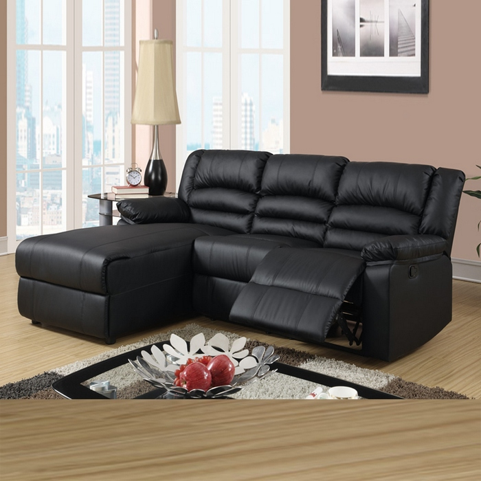 sectional sofas and recliners futon company lofasofa reviews best with chaise homesfeed black leather fur rug