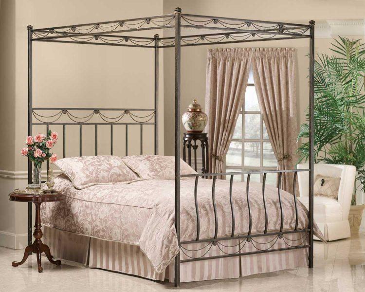 Elegant Iron Canopy Bed Frame HomesFeed