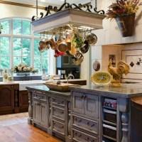 Good Pot Rack with Lights | HomesFeed