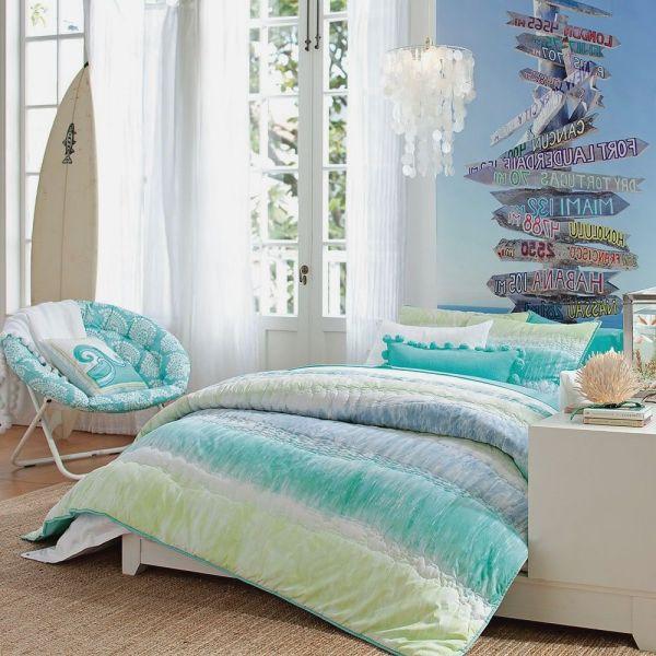 Teenage Girls Bedroom Beach Theme