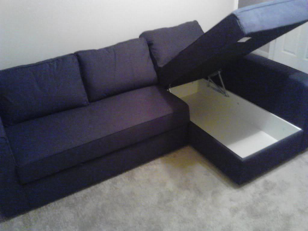 purple corner sofa bed sectional sofas ashley furniture canada best sleepers ikea homesfeed