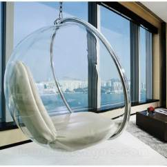 One Piece Patio Chair Cushions Wheelchair Repair Singapore Clear Hanging For Indoor And Outdoor | Homesfeed