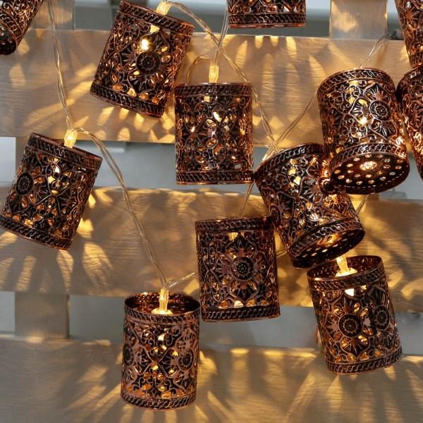 LED Vintage String Lights Lanterns