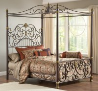Elegant Iron Canopy Bed Frame | HomesFeed