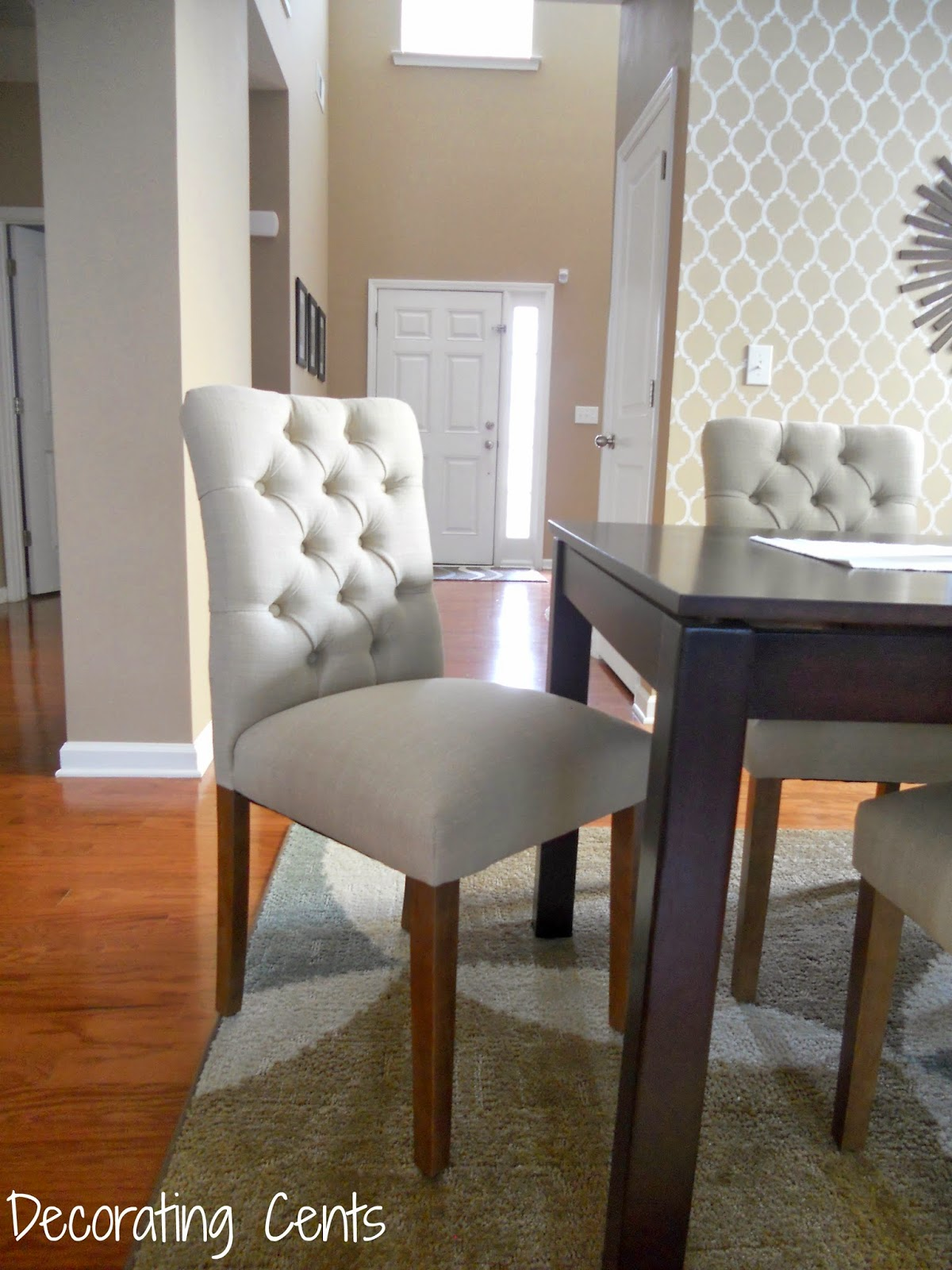 dining table chair covers target contemporary leather and ottoman perfect parsons chairs homesfeed