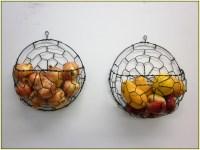 Cool Wall Mounted Fruit Basket | HomesFeed