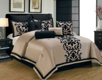 Black and Gold Bedding Sets for Adding Luxurious Bedroom