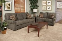 Sofa And Loveseats Sets Clic Traditional Brown Sofa ...