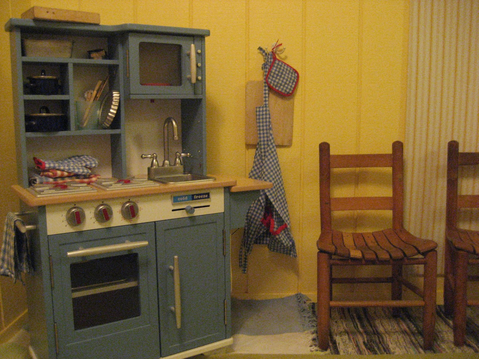wooden play kitchen sets upper cabinets with glass doors good wood homesfeed