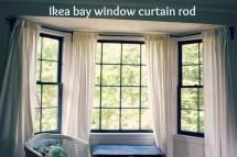 Curtain Rods Bay Windows Homesfeed