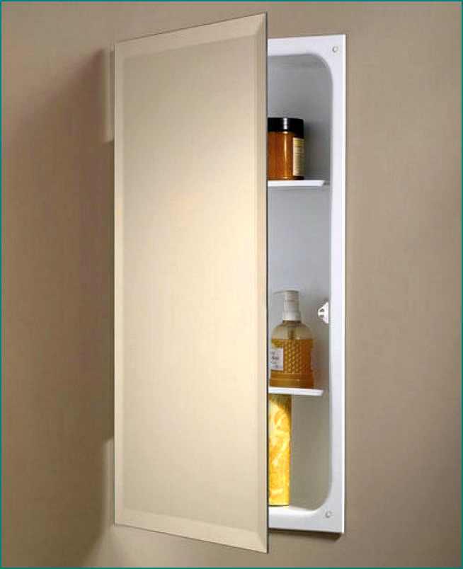 Good Recessed Medicine Cabinet No Mirror