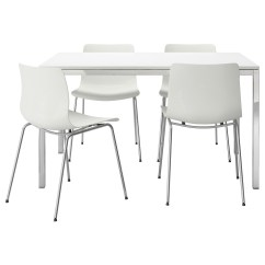White Table Chairs Modern Reclining Chair High Top Tables Ikea Homesfeed