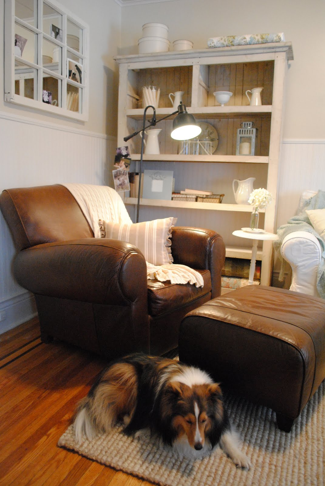 pottery barn club chair extra large slipcovers manhattan leather simple zoom image