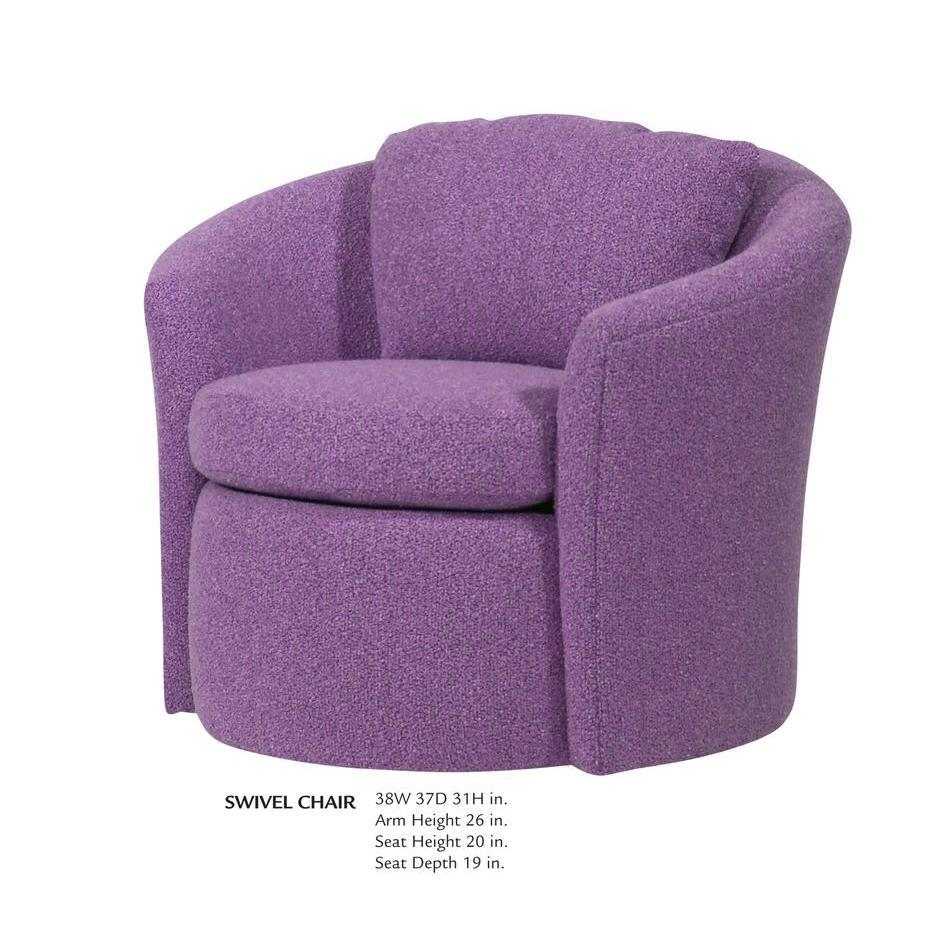 club chairs for small spaces glider chair covers canada good comfy homesfeed purple swivel