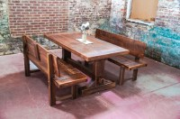 Wonderful Dining Room Benches With Backs | HomesFeed