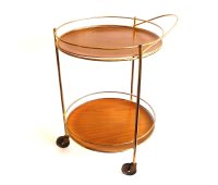 Round Bar Cart Design Options for Serving Drinks | HomesFeed