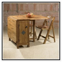 folding table with chair storage inside and wheels plus ...