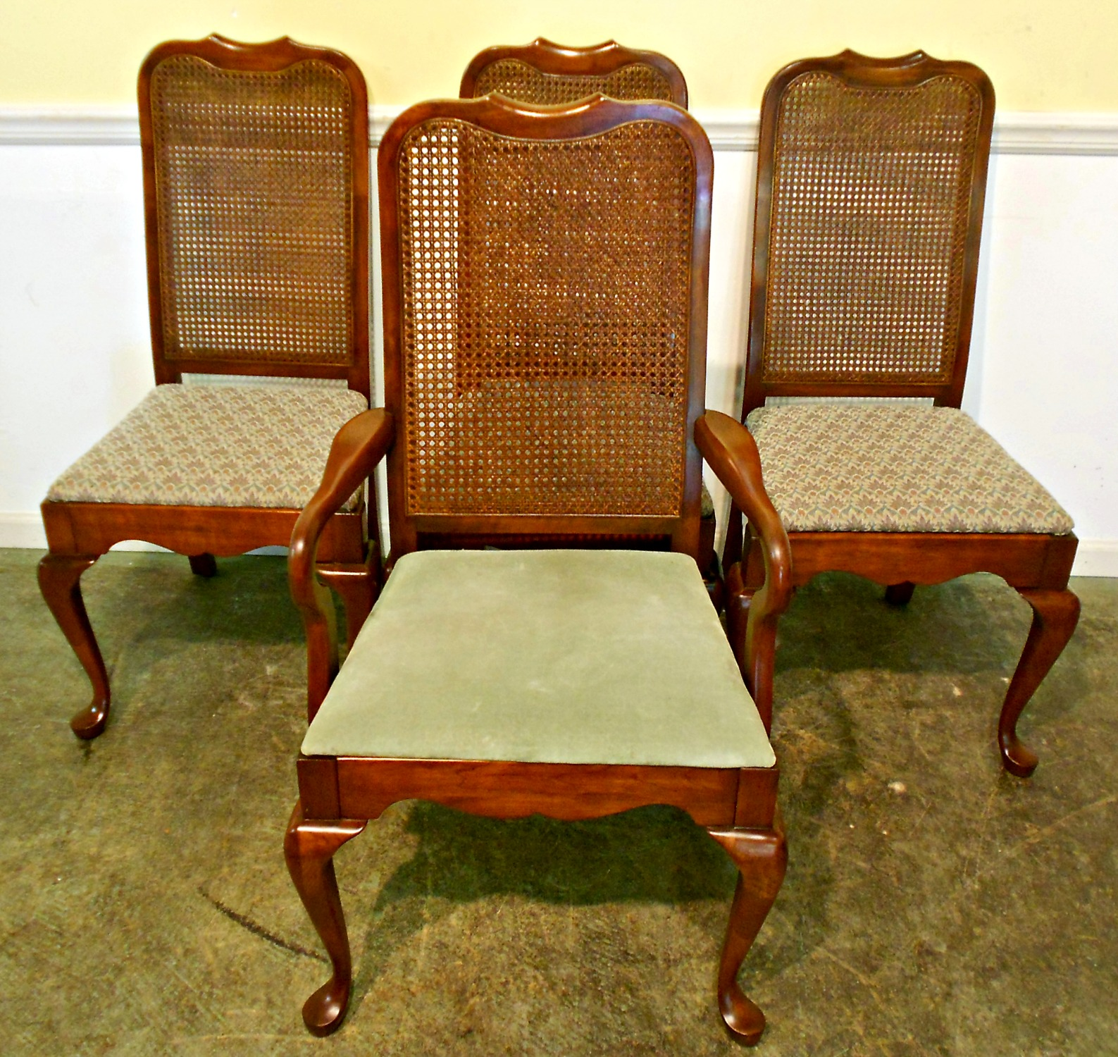 Vintage Chairs Antique Cane Back Dining Chair Homesfeed